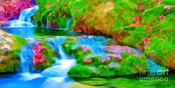 Painting - Cascades by Catherine Lott