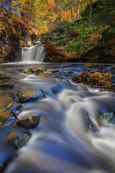 Photograph - Cascading Water At Doane's Falls by Kristen Wilkinson