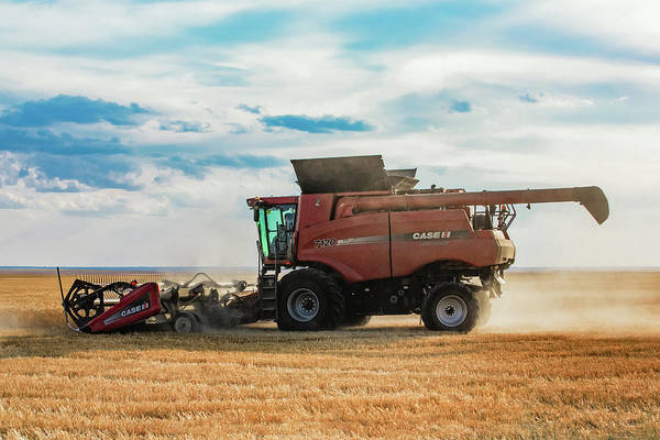 Wall Art - Photograph - Case Ih Side View by Todd Klassy