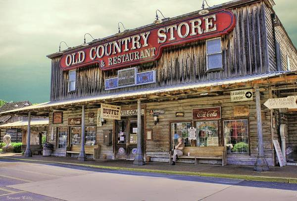 Photograph - Casey Jones Village Store by Bonnie Willis