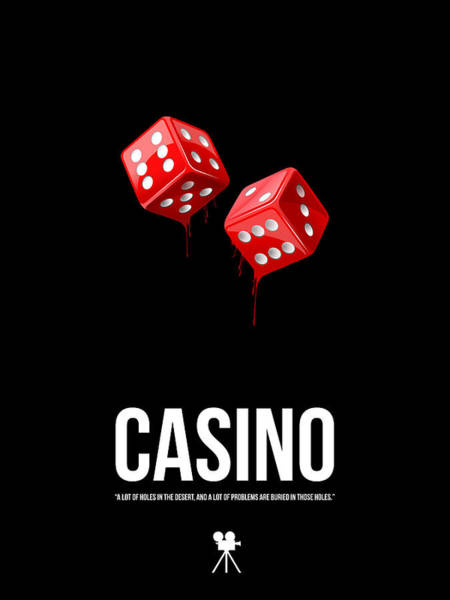 Wall Art - Digital Art - Casino by Naxart Studio