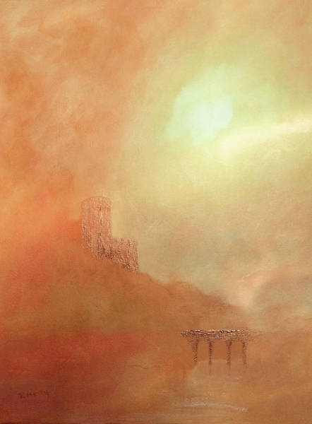 Painting - Castles In The Air by Valerie Anne Kelly