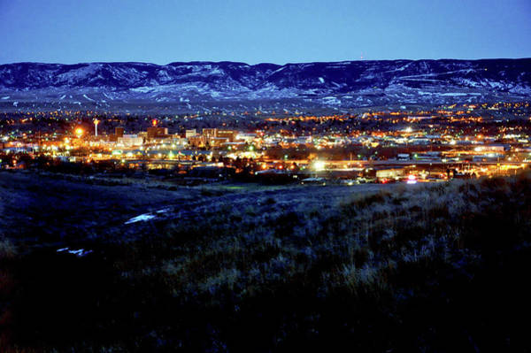 Photograph - Casper, Wyoming Dusk by Chance Kafka