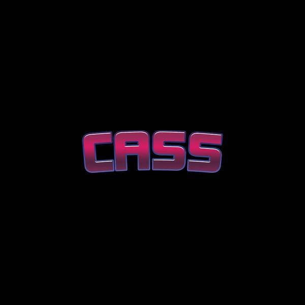 Cass Wall Art - Digital Art - Cass by TintoDesigns