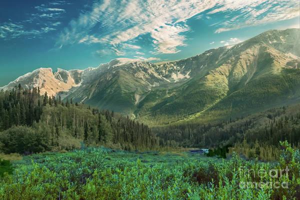 Wall Art - Photograph - Cassiar Highway Mountains by Robert Bales