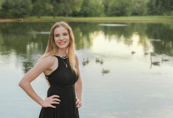 Photograph - Cassidy At The Lake by Jonathan Hansen