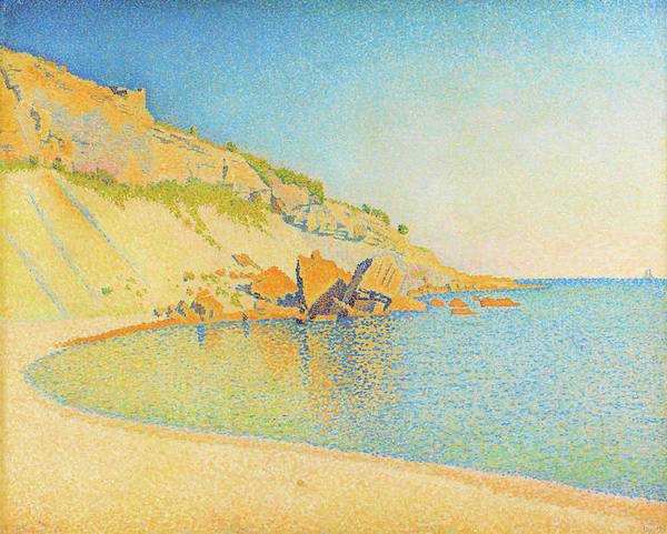 Neo-impressionism Wall Art - Painting - Cassis, Cap Lombard - Digital Remastered Edition by Paul Signac