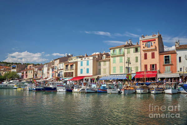 Wall Art - Photograph - Cassis Harbor In France by Delphimages Photo Creations