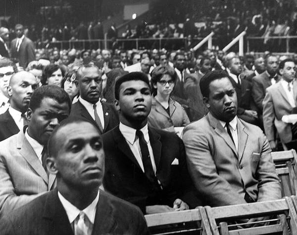 Muhammad Ali Photograph - Cassius Clay by Afro Newspaper/gado