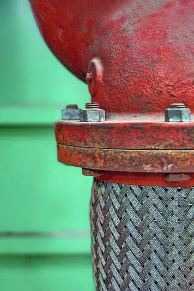 Wall Art - Photograph - Cast Iron And Braided Steel by Nikolyn McDonald