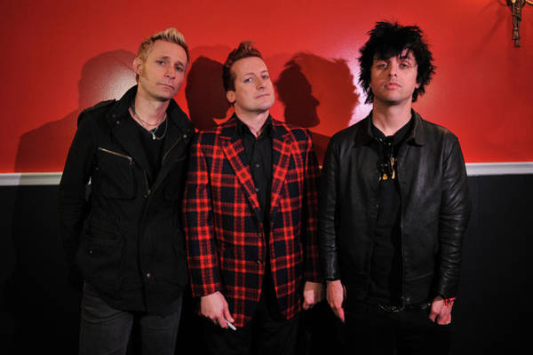 Green Day Photograph - Cast Of Broadways American Idiot by Bryan Bedder