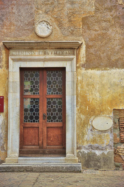 Photograph - Castel Door Texture by JAMART Photography