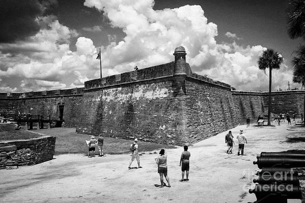 Wall Art - Photograph - Castillo De San Marcos National Monument Fort St Augustine Florida Us Usa by Joe Fox
