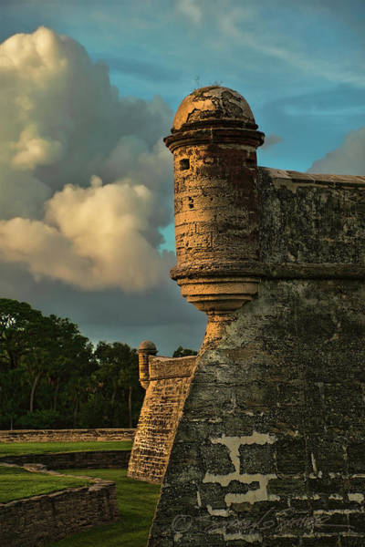 Photograph - Castillo Golden Bastion by Stacey Sather