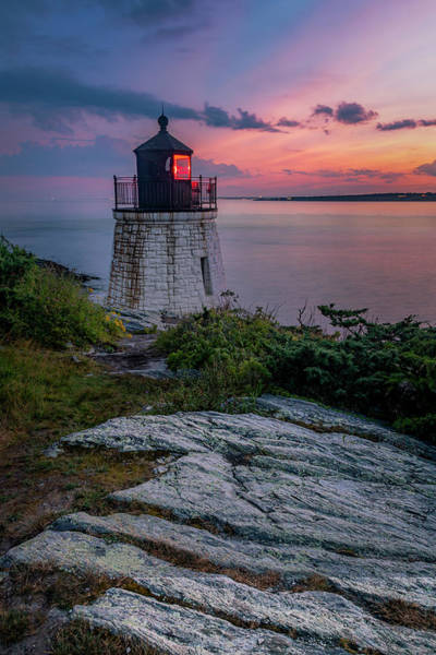 Photograph - Castle Hill Light by Susan Candelario