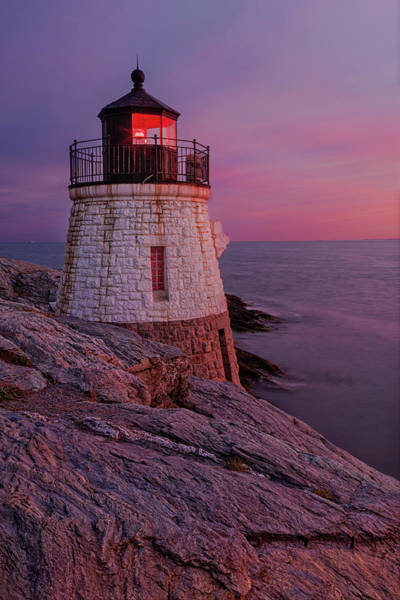 Photograph - Castle Hill Lighthouse by Susan Candelario