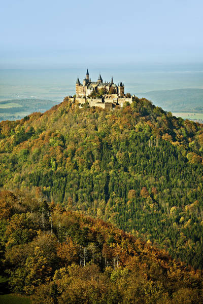 Brick Gothic Photograph - Castle Hohenzollern, Germany by 35007