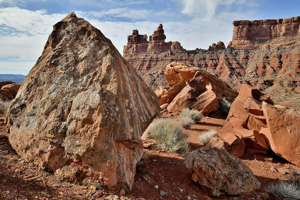 Photograph - Castle-like Buttes In Valley Of The Gods by Ray Mathis
