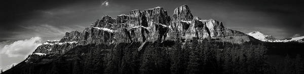 Wall Art - Photograph - Castle Mountain Panoramic by Brent Mooers