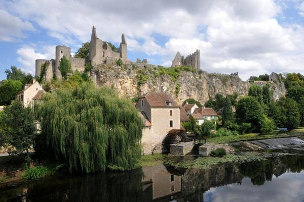 Anglin Wall Art - Photograph - Castle Of Angles-sur-anglin by P. Biron