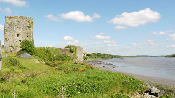 Suir Photograph - Castle On The Banks Of The River Suir by Leverstock