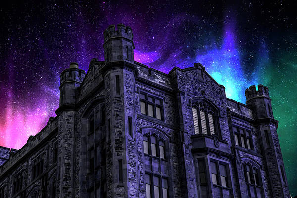 Digital Art - Castle Of Stars by Pat Pro