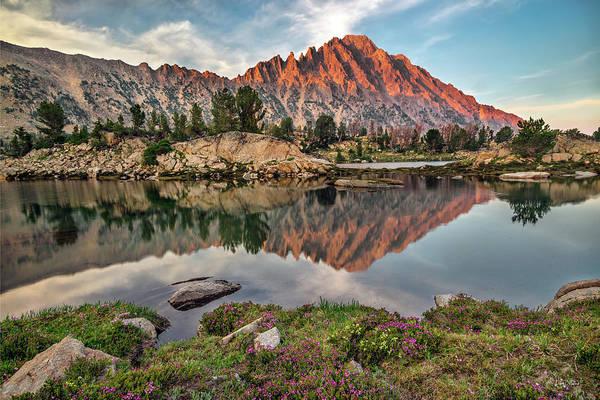 Photograph - Castle Peak Reflection by Leland D Howard
