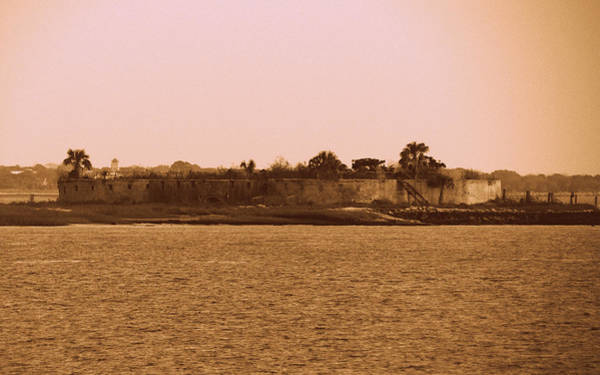 Us Civil War Digital Art - Castle Pinckney, Charleston Harbor by Matt Richardson