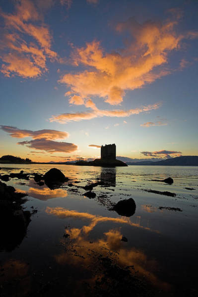 Wall Art - Photograph - Castle Stalker, Argyll And Bute by Latitudestock - Peter Lewis