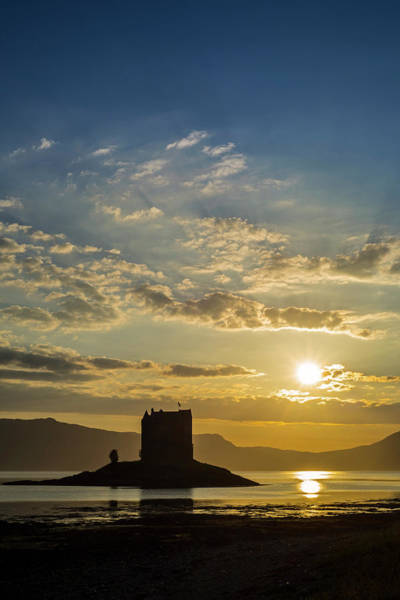 Photograph - Castle Stalker In Scotland by Arterra Picture Library