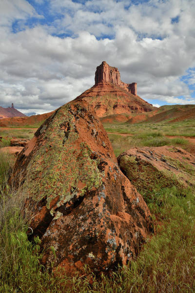 Photograph - Castle Valley Buttes And Boulders by Ray Mathis