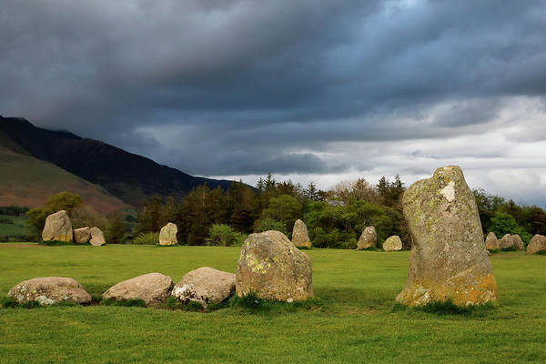 Photograph - Castlerigg Stone Circle by Nicholas Blackwell