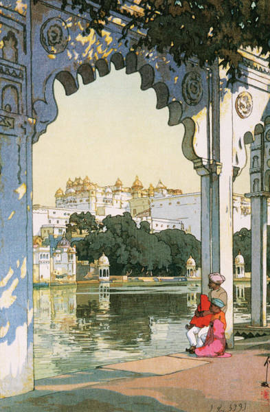 Believers Painting - Castles In Udaipur - Digital Remastered Edition by Yoshida Hiroshi