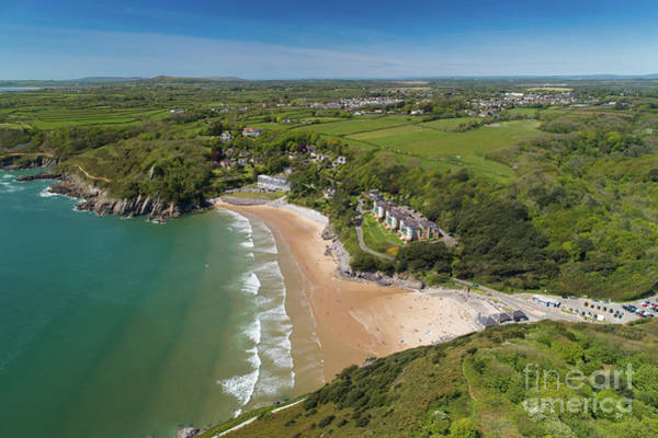 Photograph - Caswell Bay, Gower, Wales by Keith Morris