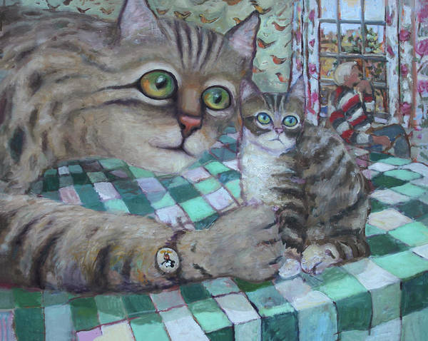Painting - Cat Daddy by Paul Emory