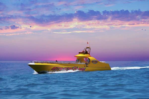Wall Art - Photograph - Catalina Island Cyclone Speedboat  by Art Spectrum