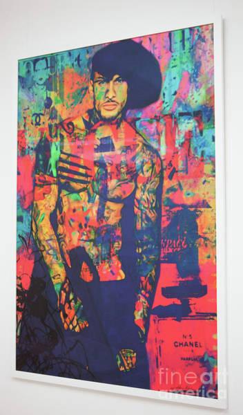 Screenprinting Painting - Catch Original Plakative Fashion By Digigraphie By Epson by Felix Von Altersheim