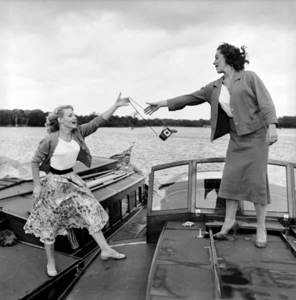 Boat Deck Photograph - Catch The Camera by John Drysdale