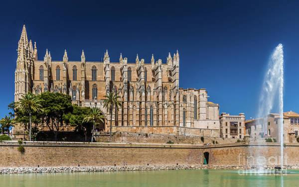 Photograph - Catedral Basilica De Santa Maria De Mallorca, Spain by Lyl Dil Creations