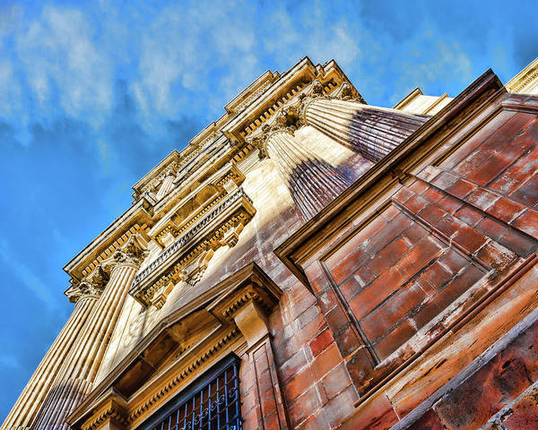 Photograph - Catedral De Malaga I by Borja Robles
