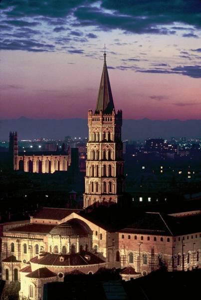Photograph - Cathar Country Saint-sernin Basilica In by Gerard Sioen
