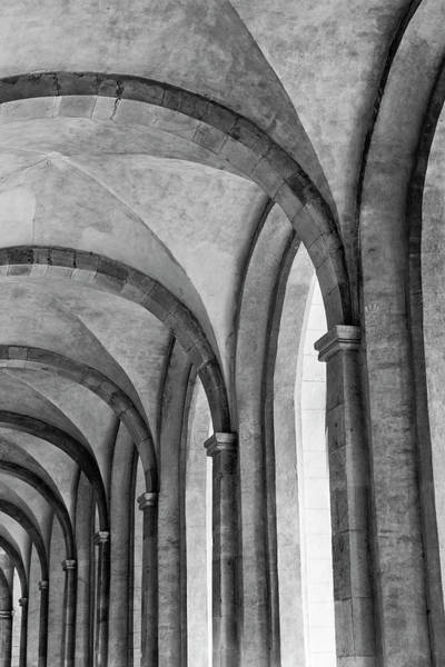 Christianity Photograph - Cathedral At Eberbach Monastery by Dg73