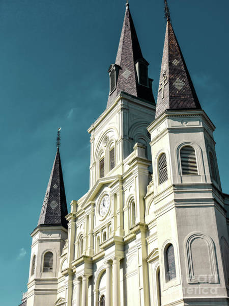 Photograph - Cathedral-basilica Of Saint Louis In New Orleans by John Rizzuto