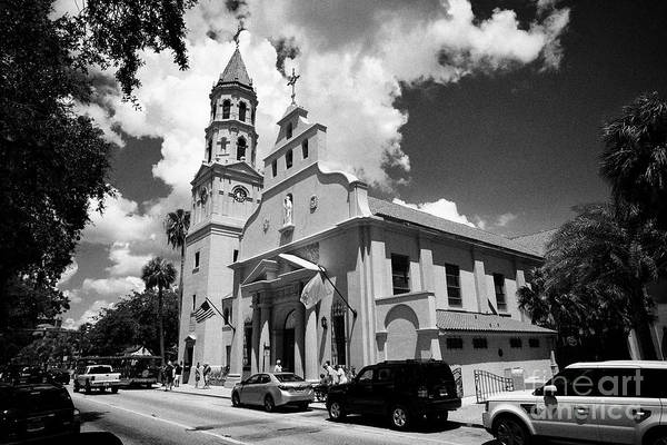 Wall Art - Photograph - cathedral basilica of St Augustine Florida US USA by Joe Fox