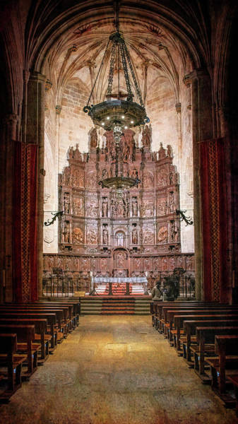 Photograph - Cathedral Caceres Spain by Joan Carroll