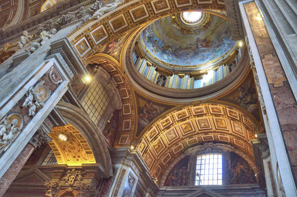Photograph - Cathedral Ceiling by JAMART Photography