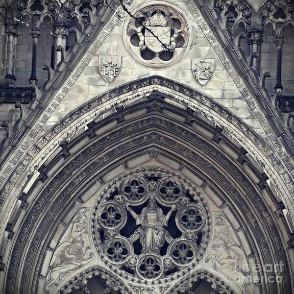 Wall Art - Photograph - Cathedral Facade by Sarah Loft
