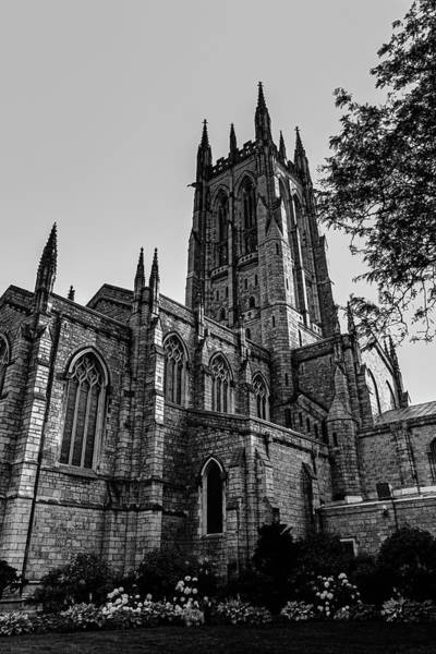 Wall Art - Photograph - Cathedral In Black And White by Denise Harty