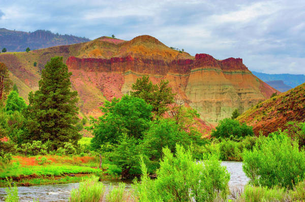 Photograph - Cathedral In The John Day Fossil Beds National Park by Dee Browning