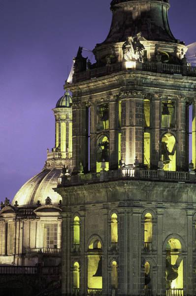 Mexico City Photograph - Cathedral Metropolitana, Mexico City by Walter Bibikow